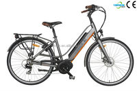 super city road electric pocket bicycle kit with battery 36v 10.4ah