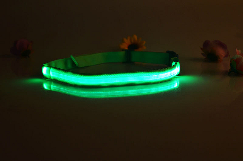 colorful running led light waist belt with buckle
