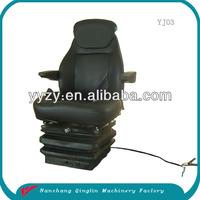 With compressor suspension mini bus driver seat made in China