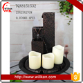 Made In China tabletop fountain with candle