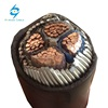 yjv 0.6/1kv xlpe insulated swa pvc 4x240mm2 power cable with copper conductor