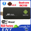 Android tv dongle mini pc Bluetooth MINI SD rk3188 quad-core Android4.2.2 2GB/8GB MK809III android 4.2 google tv cloud stick