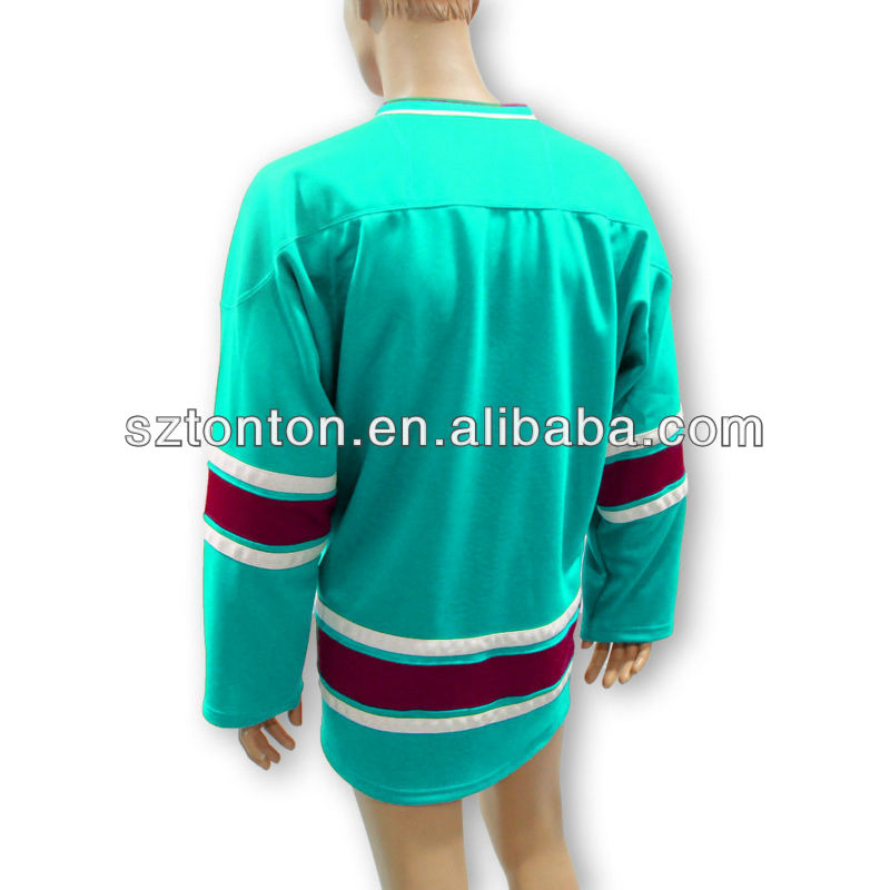 Custom blank hockey jerseys sublimation