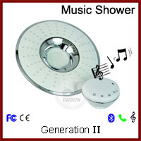 Dusun Xiamen music Shower head with speaker shower handle