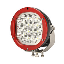 ATV 7'' round 90w led red work light 4wd