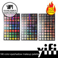 Best selling high qulity 180 colors eye shadow cosmetics makeup palette