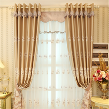 sunshine fabric jacquard window curtain electric system for smart home system