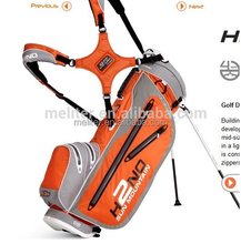 White color and logo customized hot sale waterproof golf bag