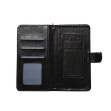 5.6-6.0 inch universal Phone Case, Leather Folding Flip Card Slots Wallet Magnetic Closure Protective Cover
