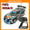 Racing Car ! 1:14 4x4 High Speed Rc Cars (30km/h)