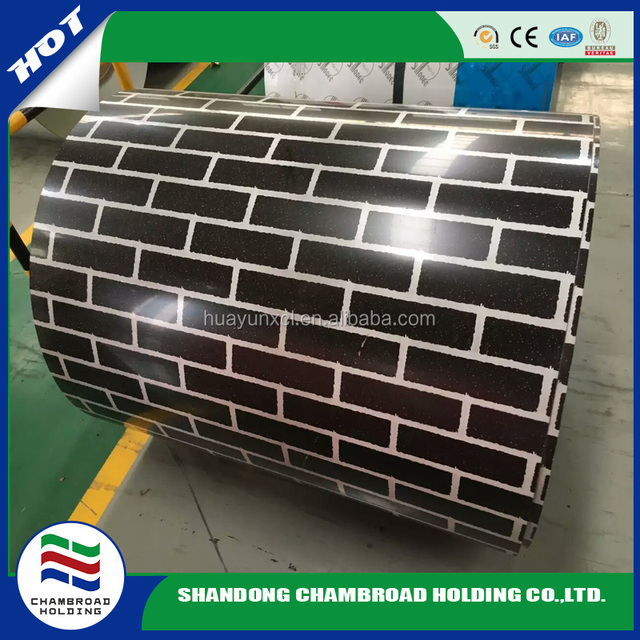 Wood/Brick/Camouflage printing PPGI/ Prepainted galvanized sheet steel in coils