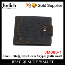 China guangzhou supplier fancy folding leather coin purse large capacity men <strong>wallet</strong>