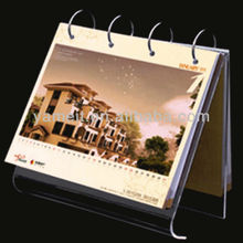 2014 Customer Logo Promotional Acrylic Desktop Calendar