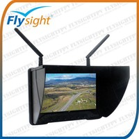 "E525 No blue screen Flysight 5.8G 32ch Black pearl 7"" HDMI diversity monitor for walkera lama 2, walkera helicopter, drone"