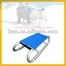 folding aluminum snow sled