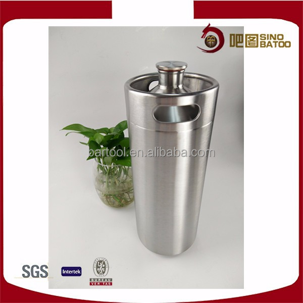 Stainless steel food grade barrel for alcohol and non alcohol beverage