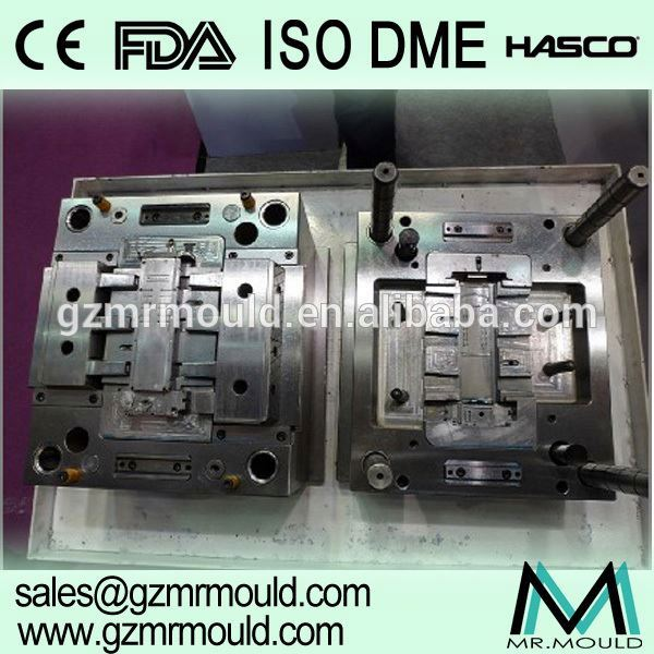 plastic injection turnover crate box mould