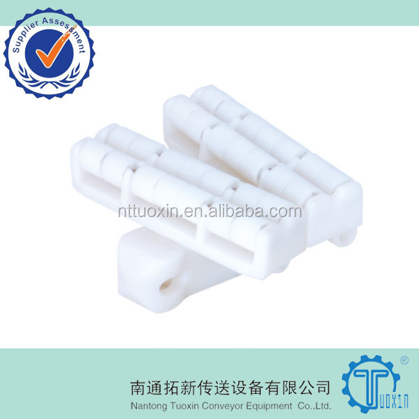 Roller Top Plastic Flexible Chain