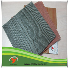 wood grain exterior wall siding panel for building materials
