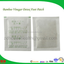 bamboo vinegar ginger foot patch