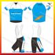 Cycling jersey Custom Made professional, Sublimation printing bib shorts sleeve