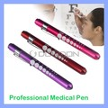 Diagnostic Medical Aid Pen Light Penlight Flashlight Pocket Torch With Scale
