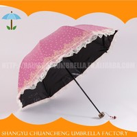 Factory Directly Provide Strong 3-folding umbrella second hand items