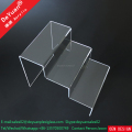 Acrylic Stage Riser For Shoe Display Rack / Plastic Riser Holder
