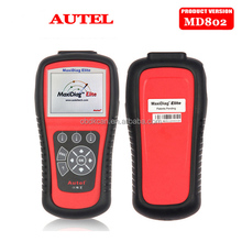 100% Original Autel Maxidiag Elite MD802 4 System MD701+MD702+MD703+MD704 Diagnostic Tool With MV208 8.5MM Digital Videoscope