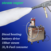 2015 CE 18bar stainless steel portable diesel mobile steam vehicle wash