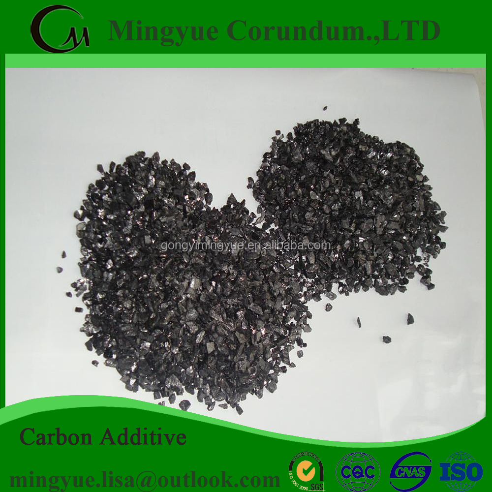 FC 98% Low Sulphur Graphite Recarburizer/ Carbon Raiser for Sale