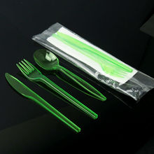 CE/FDA Certified kids disposable plastic cutlery
