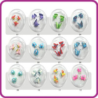 2014 hot selling New Style fashion Artificial Fingernails nail art tips nail ceramic animal