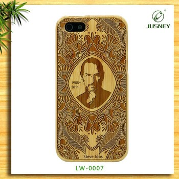 China supplier origin real handmade natural wood wooden hard bamboo shockproof case for Iphone 6(4.7)