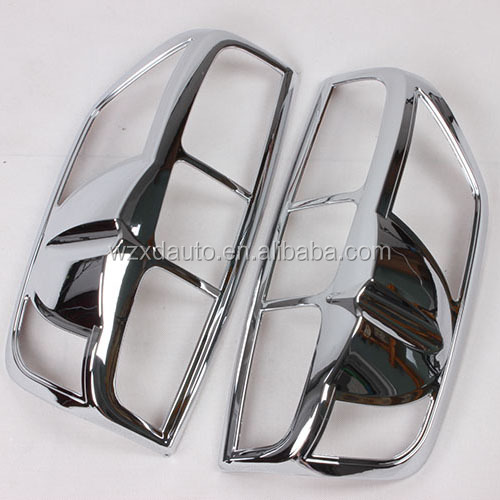 07'-ON NAVARA CHROME TAIL LAMP COVER AUTO AFTERMARKET PARTS CAR ACCESSORIES