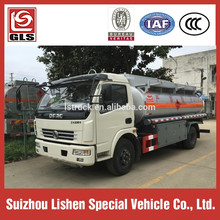 8000 Liters Fuel Tank Truck Oil Tanker