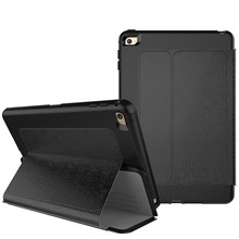Auto Smart Sleep Stand Magnetic Flip Case For iPad Mini 4 Leather Case