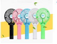 2016 New style 5V ABS plastic body rechargeable portable hand hold Mini USB Fan desk cooler
