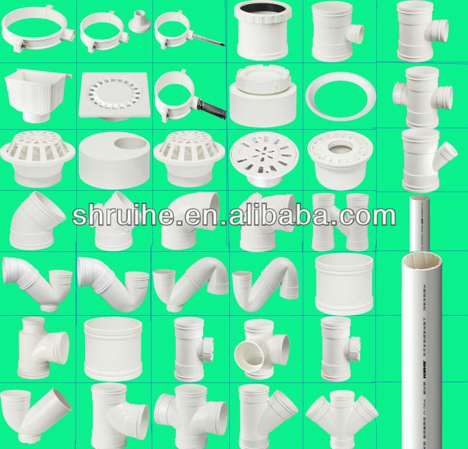 pvc pipe fitting/SCH40/SCH80 pvc pipe fittings