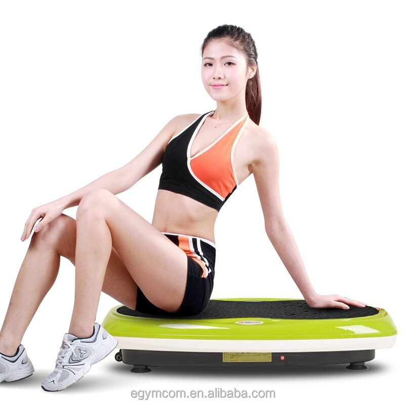 Fat Burner Machine in Fitness Equipment Vibration Machine Trainer Plate Platform Body Shape Exercise Fitness