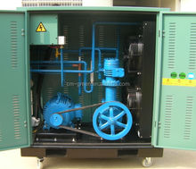 R407C/R134A/R22 Oil Free Compressor Industrial Refrigerant Recovery Unit WFL18 for Centrifugal Units at competitive price