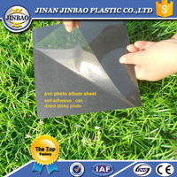 self adhesive pvc sheet for photo album