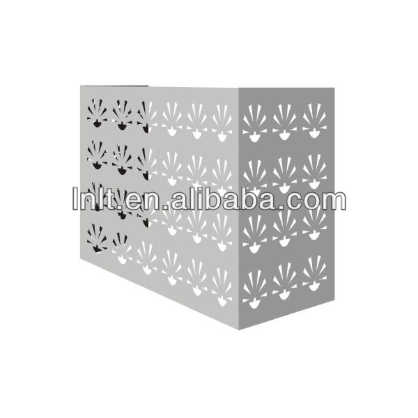 external aluminium air conditioner cover