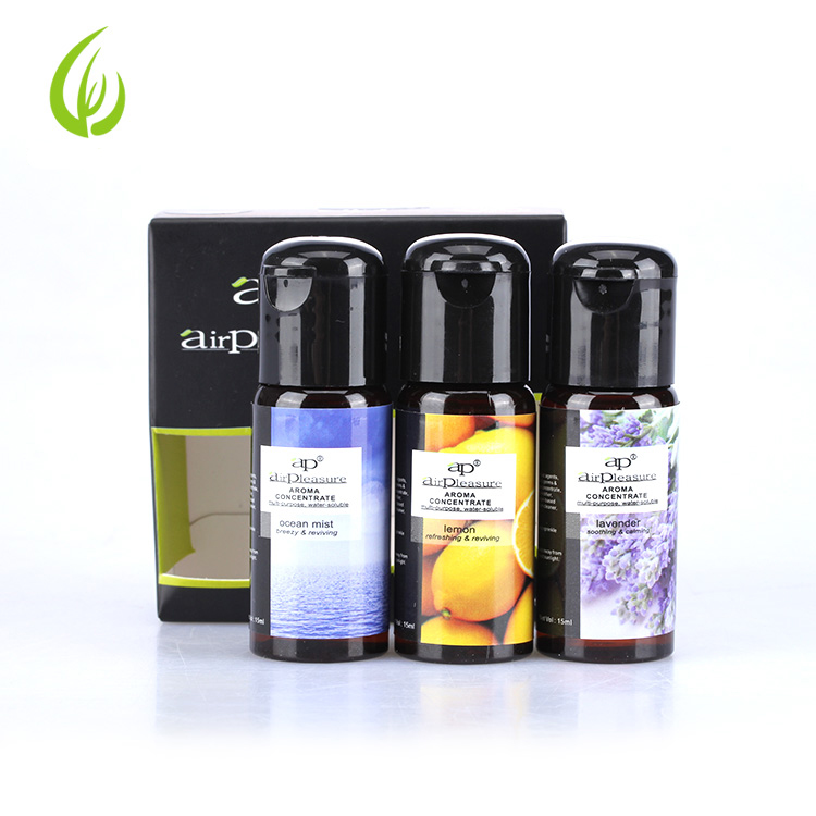 Aromatherapy diffuser essential <strong>oil</strong> 3*15ml set