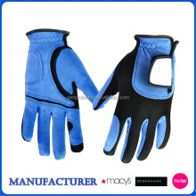 stocked high quality washable microfiber golf Glove