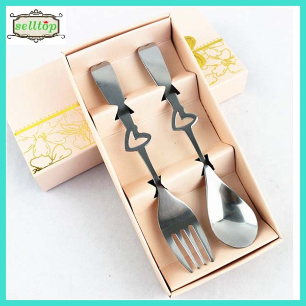 High quality 14.5cm stainless steel fork and spoon wedding souvenirs philippines