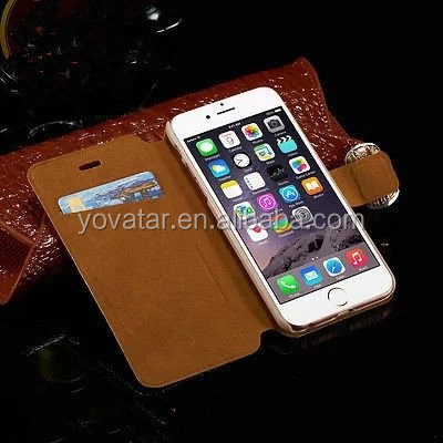 Glitter Bling diamond leather for iphone case,for iphone 6 Scratch-Resistant case,mobile phone case