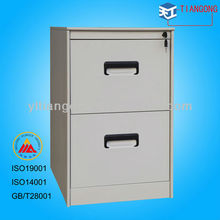 Round Featheredge Drawer-Type Unassembled Metal Filing Cabinet