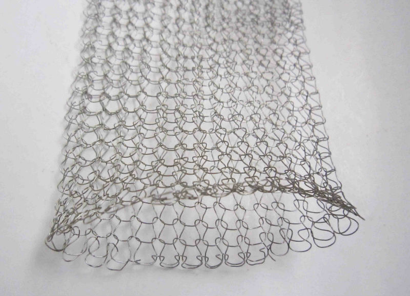 Stainless Steel Knitted Mesh for vapour liquid filtering