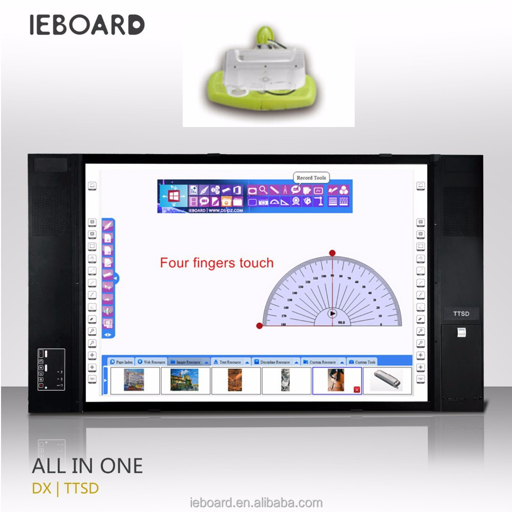 [Hot] I E BOARD all-in-one infrared four users touch interactive smart board,teaching system